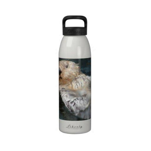 Sea Otter  Water Bottle