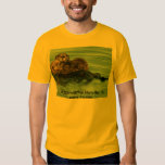 Sea Otter with Pup, Morro Bay, CA  morro-bay.com  T-shirts