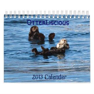 Sea Otterliscious 2013 Calendar