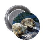 Sea-otters 2 Inch Round Button