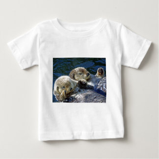 Sea-otters Baby T-Shirt