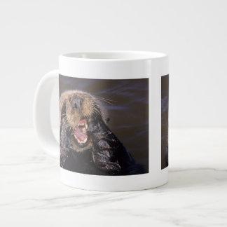 Sea Otters, Enhydra lutris 6 Giant Coffee Mug