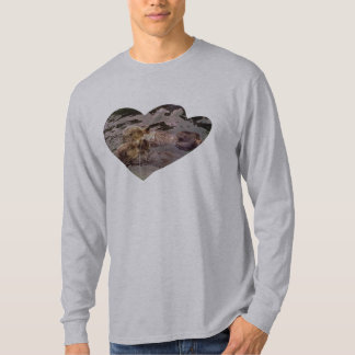 Sea Otters Holding Hands T-Shirt