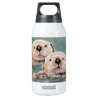 Sea Otters Insulated Water Bottle