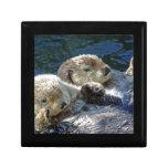 Sea-otters Keepsake Box