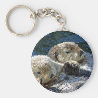 Sea-otters Keychain