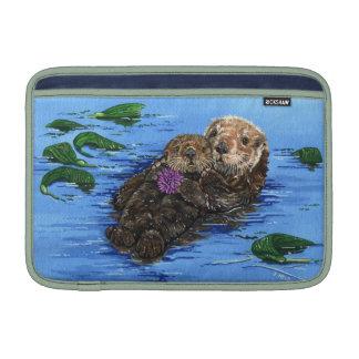 Sea Otters MacBook Air Sleeve