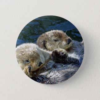 Sea-otters Pinback Button