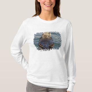 Sea otters play on icebergs at Surprise Inlet T-Shirt