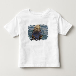 Sea otters play on icebergs at Surprise Inlet Toddler T-shirt