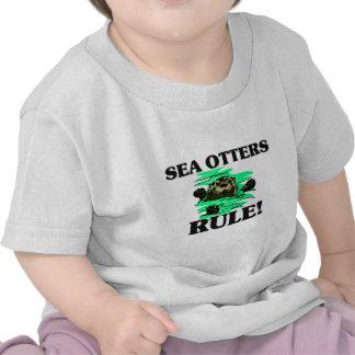 SEA OTTERS Rule Tee Shirts