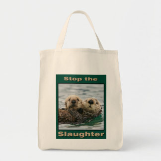 Sea Otters - Stop the Slaughter Bags