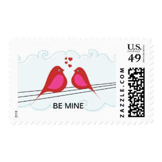 Sea pájaros de la tarjeta del día de San Valentín  Envio