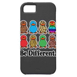 sea patos ducky de diverso modelo divertido iPhone 5 Case-Mate cárcasas