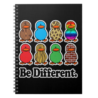 sea patos ducky de diverso modelo divertido cuadernos
