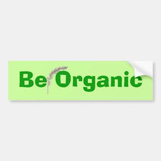 Sea pegatina para el parachoques orgánica pegatina para auto
