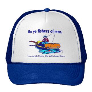 Sea pescadores de YE de hombres Gorros Bordados