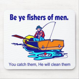 Sea pescadores de YE de hombres Tapete De Raton
