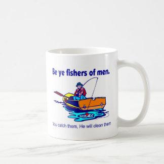 Sea pescadores de YE de hombres Tazas De Café