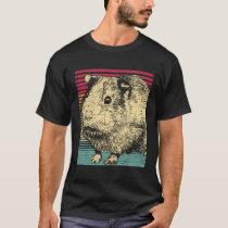 Sea pig Retro T-Shirt