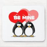 Sea pingüinos de la mina tapete de ratones
