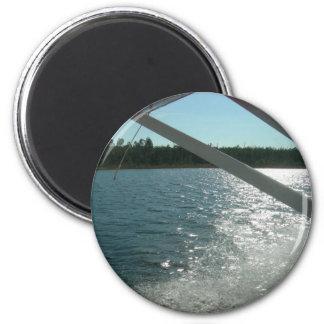 sea plane landing fridge magnets