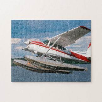 Sea Plane Taking Off, Victoria Falls, Zimbabwe Jigsaw Puzzle