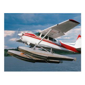 Sea Plane Taking Off Victoria Falls Zimbabwe Postcard