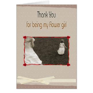 Sea por favor mi dama de honor, tarjeta de felicit