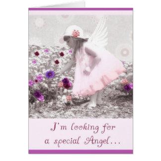 sea por favor mi flowergirl tarjeta de felicitación