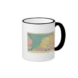 Sea ports of England Ringer Mug