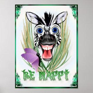 Sea poster feliz