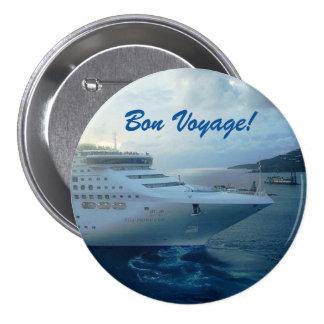 Sea Princess Bon Voyage Pinback Button