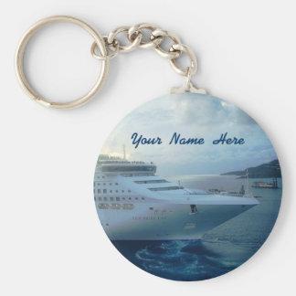 Sea Princess Custom Basic Round Button Keychain