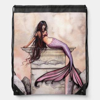 Sea Princess Fantasy Art Cinch Bag