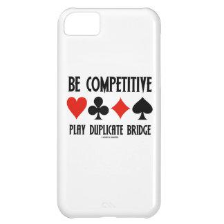 Sea puente competitivo del duplicado del juego funda para iPhone 5C
