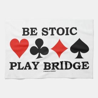 Sea puente estoico del juego (cuatro juegos de la toallas de mano