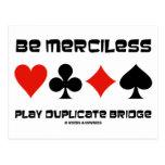 Sea puente sin piedad del duplicado del juego postal