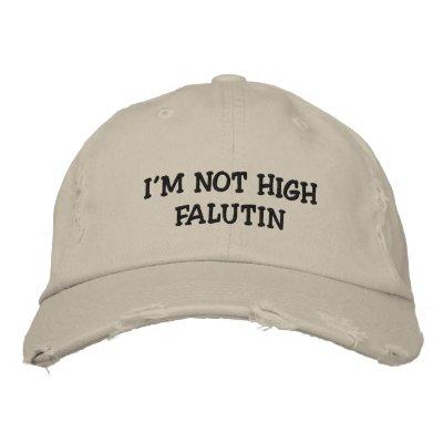 Sea quién usted es gorras bordadas
