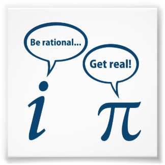 Sea racional consiguen la matemáticas imaginaria cojinete