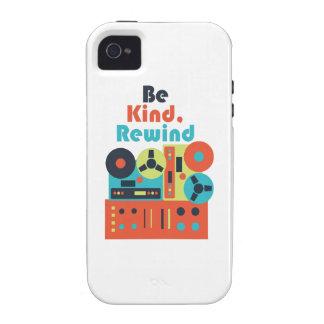 Sea rebobinado bueno iPhone 4/4S carcasa