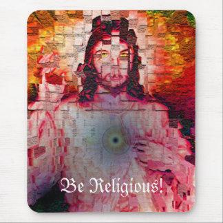 ¡Sea religioso! Tapetes De Raton