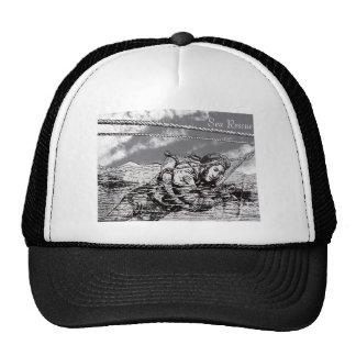 Sea Rescue design for hat