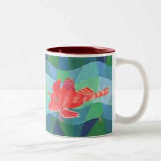 Sea Robin Two-Tone Coffee Mug