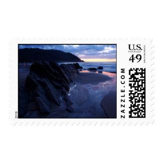 sea rock stamp