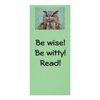 ¡Sea sabio! ¡Sea ingenioso! ¡Lea! Señal Lona