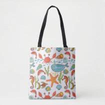 Sea Sally Tote Bag