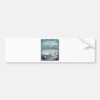 Sea Salt Water   Beach Ocean Bumper Sticker