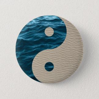 Sea & Sand Pinback Button