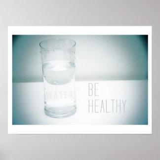 Sea sano - poster del agua